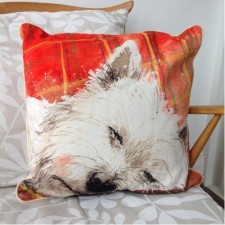 Westie Cushions & Blankets
