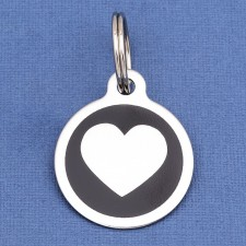 Heart Pet ID Tags