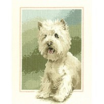 Westie Cross Stitch Kits