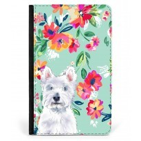 Westie Passport Covers