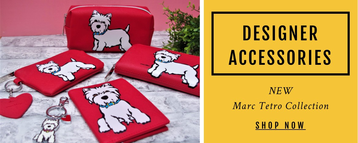 Marc Tetro knows that dogs make everything better. Find your favourite Westie on wallets, bags, totes, accessories, and prints.