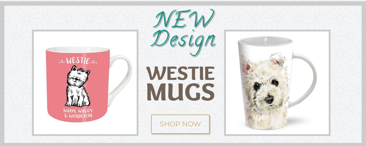 New Design Westie Mugs